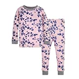 Burt's Bees Baby baby girls Pajamas, Tee and Pant