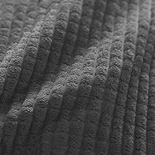 Coton Velours Côtelé Oreiller De Coin De Lit,Renforcer Triangulaire Grande Tête Lecture Reste Pad Lombaire,Coussin De Backrest pour Sofa Lit De Jour L 180cm(71inch)