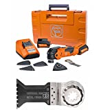Fein 63502152290 Cordless Starlock Oscillating Multi-Tool with 10 Pack Of Blades