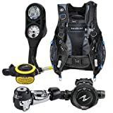 Aqua Lung Essential Package Pro HD BCD Size ML Titan Regulator ABS Octo i300 Computer SPG Console Aqualung Scuba Diving Combo Set Medium-Large
