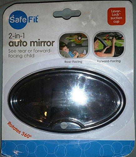 SafeFit 2-in-1 Baby Auto Mirror 83005