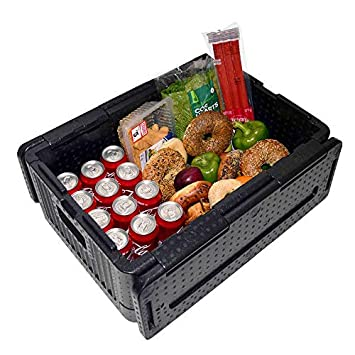 Lenoxx Iceless Foldable Cooler Portable and Lightweight 39 L Large Storage Capacity Soft Cooler Insulated Cooler