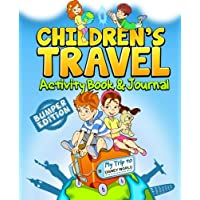Children's Travel Activity Book & Journal My Trip to Disney World