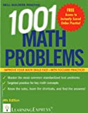 1,001 Math Problems, LearningExpress LLC, 157685907X