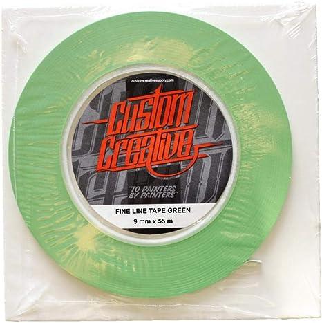 Green Vinyl Ultra Flexible Airbrush Band Custom 9mm Auto