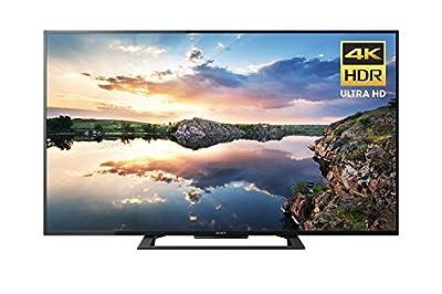Sony KD60X690E 60-Inch 4K Ultra HD Smart LED TV (2017 Model) (Certified Refurbished)