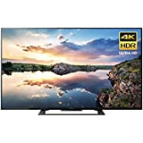 Sony KD60X690E 60-Inch 4K Ultra HD Smart LED TV (2017 Model) (Certified Refurbished)
