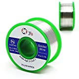 YOUSHARES 0.8mm Lead Free Solder Wire with Rosin Core for Electrical Repair Soldering (Sn99/Ag0.3/Cu0.7, flux 2.0%, 0.22lb, 93.5ft)