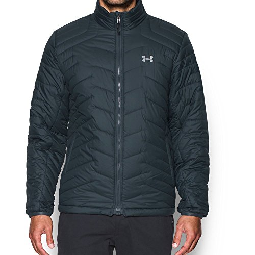 Under Armour Men's ColdGear Reactor Jacket, Stealth Gray (008)/Overcast Gray, Medium ()