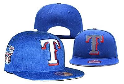 Texas Rangers Hats Cap Mens Baseball Snapback Cap Hat One Size