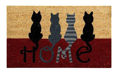 Better Trends/ Pan Overseas FWAN1225 Cat Home Coir Door Mat (Cat Mat Door)