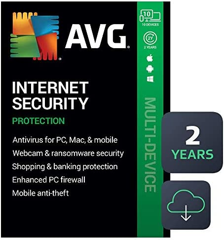 AVG Web Safety 2020 | Antivirus Safety Software program | 10 Gadgets, 2 Years [PC/Mac/Mobile Download]