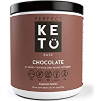Perfect Keto Exogenous Ketone Supplement for Ketogenic Diet (Chocolate)