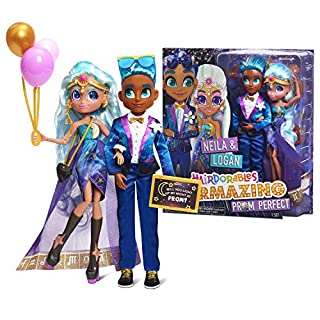 Hairdorables Hairmazing Prom Perfect Pair Fashion Dolls 2- Pack, Amazon Exclusive