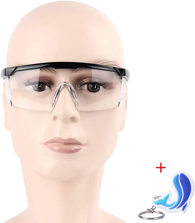 Gafas de seguridad antipolvo, retráctiles y ajustables, multifunción, 1 par