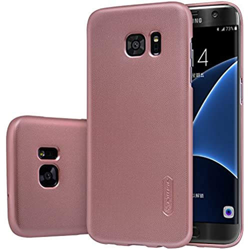 Samsung Galaxy S7 Edge Case,Nillkin[With Screen Protector] Frosted Shield Hard Case Back Cover for Samsung Galaxy S7 Edge-Retail Package Sales