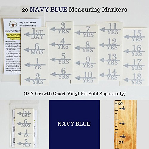ADD ON - DIY Vinyl Growth Chart Ruler - Height Marker Arrows - Marker Arrow