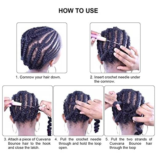 Afro Jumbo Braids Hair Extensions 5 Pack 2 Tone 3 Tone Ombre