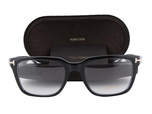 f0dcd39905 Amazon.com  Tom Ford FT5304 Eyeglasses 54-19-145 Shiny Black 001 FT ...