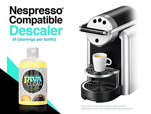 JAVA CLEAN - 16oz Coffee Descaler / Coffee Machine Cleaner (4 cleanings per bottle) Best Value ...