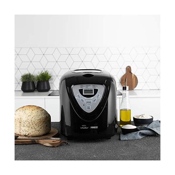 Princess 152009 Macchina per il pane - 600 Watt, Grande capienza 0.9kg, 15 programmi di cottura, Modalità senza glutine… 5