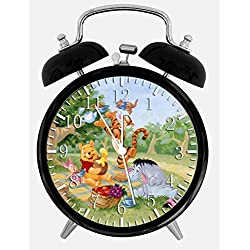 New Winnie the Pooh Alarm Desk Clock 3.75 Room Decor Y28 Will Be a Nice Gift
