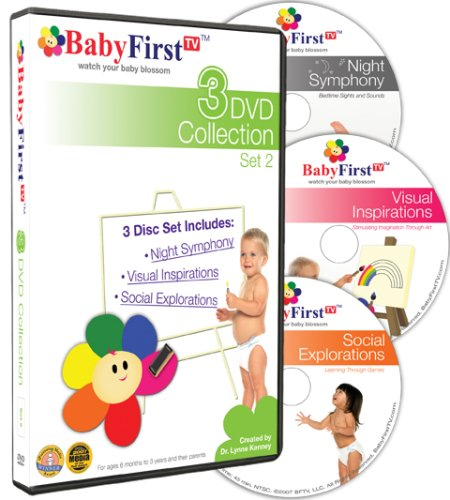 - BabyFirstTV Presents 3 DVD Collection Set 2
