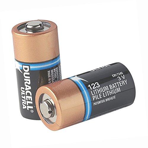 Duracell\xAE Ultra CR123A Lithium Batteries (10/Pkg) - DL123AZ ()