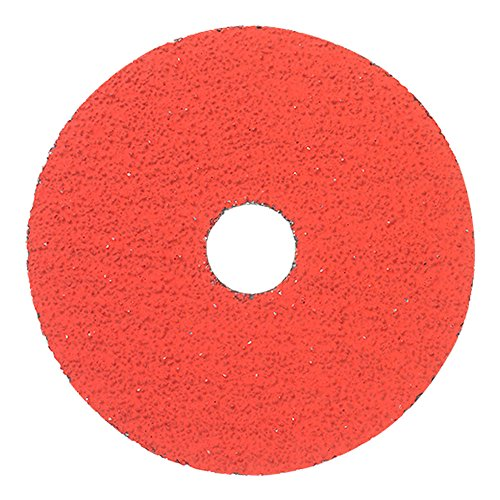 Mercer Industries 315036 36 Grit Premium Ceramic Resin Fiber Discs (25 Pack), 4-1/2 x 7/8'' by Mercer Industries