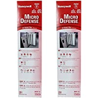 Honeywell 4 Inch High Efficiency Collapsible Air Filter, 2 Pack | CF2200A1005-W
