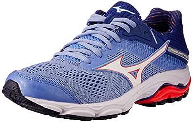Mizuno Australia Women's Wave Inspire 15 Running Shoes, Grapemist/White/Fiery Coral, 6.5 US