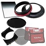 "WonderPana FreeArc Essentials ND Kit-Rotating Holder, Cap, 6.6""x8.5"".9HE Grad ND & 145mm ND16 Filters f/ Tamron SP 15-30mm"