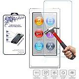 Glass Screen Protector,For iPod Nano 7 & 8th Generation Nacodex® Tempered Glass Screen Protector (For iPod Nano 8)