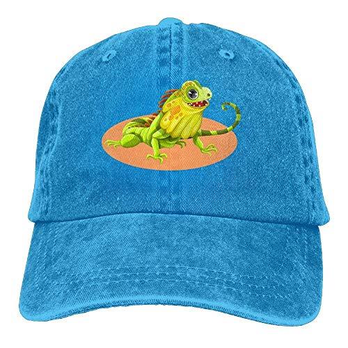 Green Cowboy for Sport Cowgirl Hats Reptile Skull Men Women Cap Hat Denim xpwRq4ng