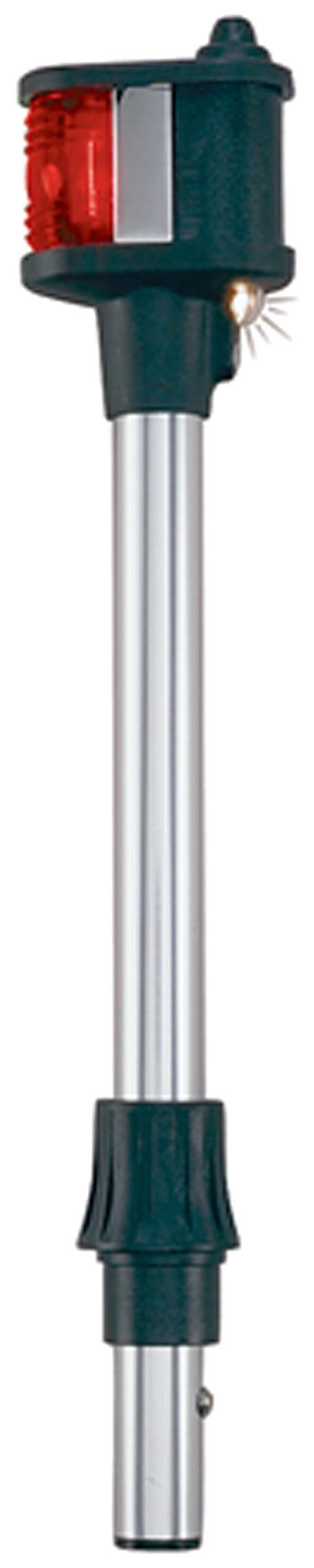Perko 1211DP2CHR 12.5'' Chrome Removable Bi-Color Marine Pole and Utility Light with Pole by Perko