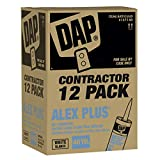 DAP Contractor 12-Pack - ALEX PLUS-« White Caulk