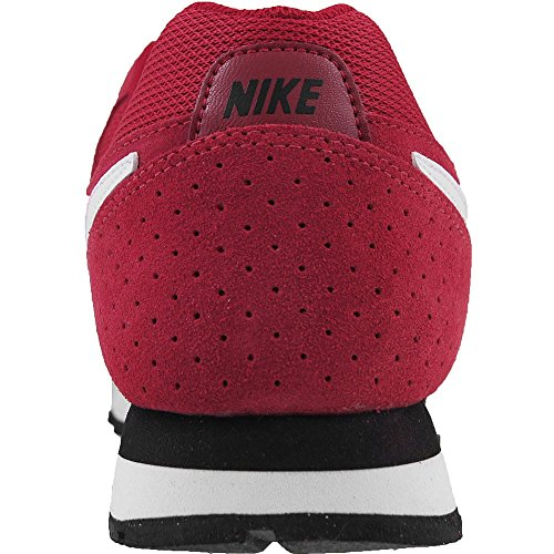 Nike - MD Runner Suede - Color: Bianco-Nero-Rosso - Size: 41.0
