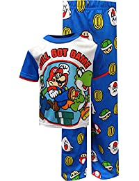 Super Mario Boys' 2-Piece Pajamas