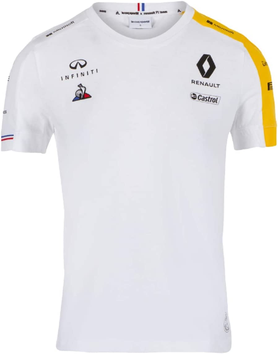 Renault F1 2019 Team Womens T-Shirt White