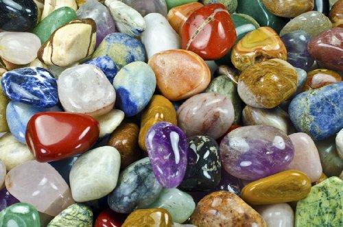 Brazilian Natural Stone : Lbs xxlg brazilian tumbled polished natural stones