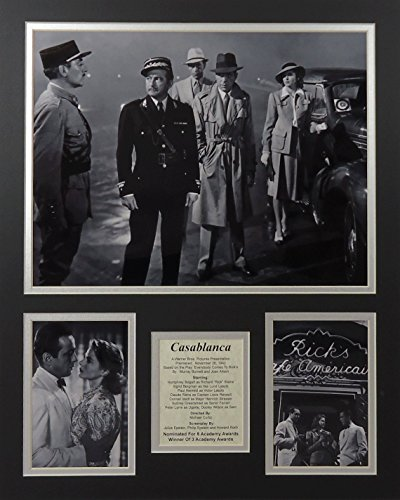 """Casablanca - II 16"""" X 20"""" Unframed Matted Photo Collage By L"""