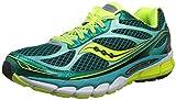 Saucony Women's Ride 7 Running Shoe,Green/Citron,6 M US