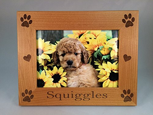 Laser Engraved Personalized Pet 5x7 Photo Frame (Personalized Pictures compare prices)