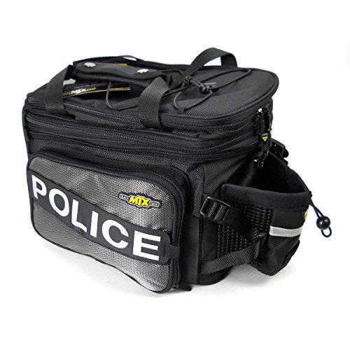 Topeak MTX Bicycle Trunk Bag DXP – Classic w/ Soft Sides – TT9616B-POL