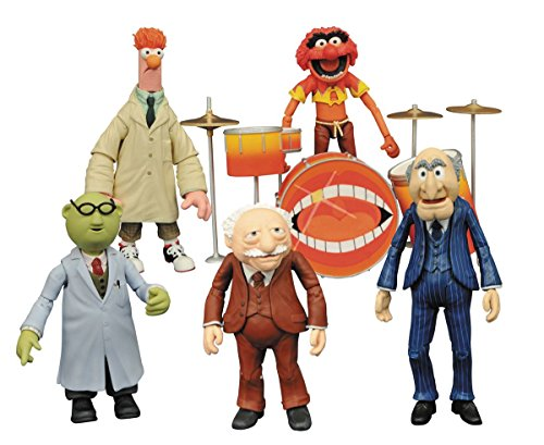The Muppets Assortment Action Figures Multi-Pack Series 2 Set of 5 (Beaker From Muppets)