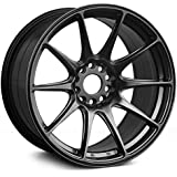 "XXR Wheels 527 Chromium Black Wheel with Painted Finish (17x8.25""/5x100.5mm, +35mm offset)"