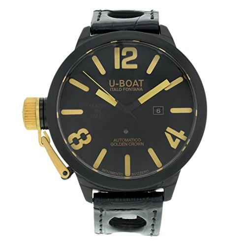 U-Boat Classico 1215 Black Ceramic Automatic Men's Watch