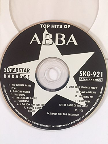 ABBA Greatest Hits Karaoke CD+G Superstar Sound Tracks
