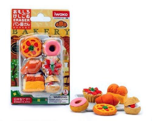 Iwako Japanese Eraser Set - Japanese Baked Goods ()