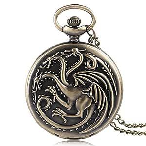 Reloj de Bolsillo con diseño de Game of Thrones para